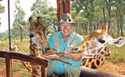 Giraffes on a Collette tour