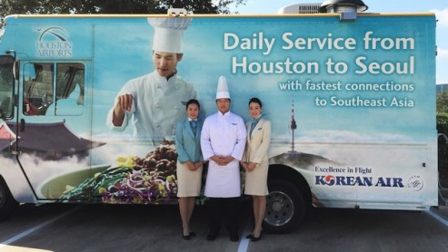 Korean Air Creates Food Truck in Houston To Show Off In-Flight Cuisine