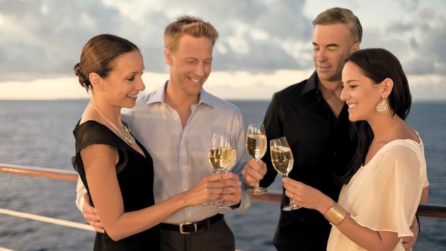 Guests can opt for a series of special wine cruises hosted by professional vintners.