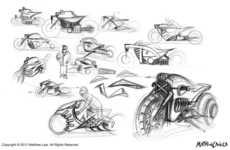 Retro-Futuristic Rides