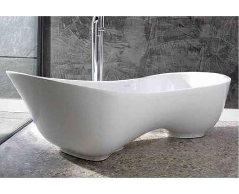 Clear Glass Bathtub Wasauna Whirlpool for Two