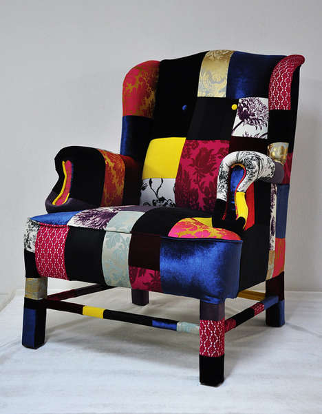 HippyChic Furniture Lisa Whatmoughs Patchwork Sofas