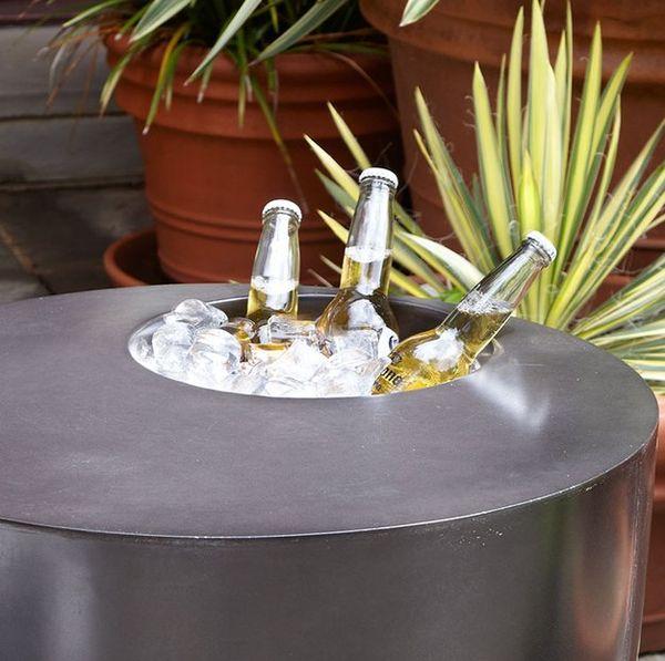 cooler side tables drink cooler