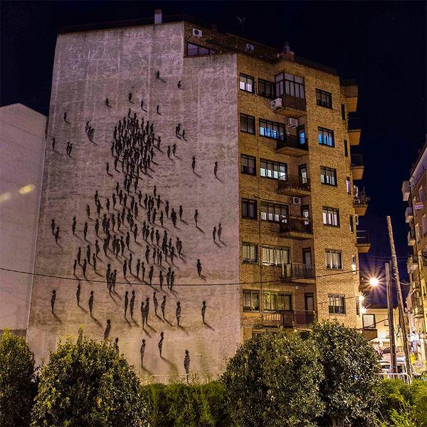 Art Graffiti Buildings