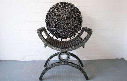 chair plus stool yellow slipper 25 uncomfortable art chairs