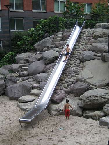 Cheese Grater Slide Meme : cheese, grater, slide, Cheese, Grater, Slides:, Bizarre, Playgrounds, Really?