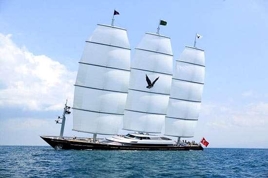 100 Million Sailboat The Maltese Falcon