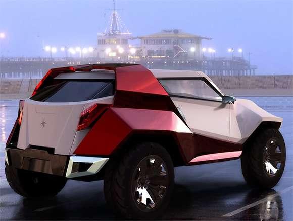 Futuristic Geometric Cars The 2009 Fornasari Buggy Rocks
