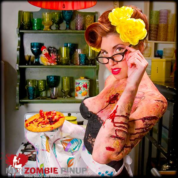 Vintage Macabre Photoshoots The 2010 My Zombie Pinup Calendar