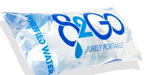 Bagged Beverage Packaging  82go Purely Portable Water