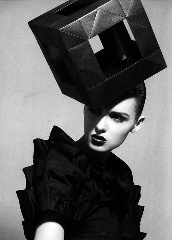 Cubed Cranium Couture House of Architects Millinery