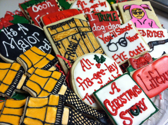 Movie Quoting Cookies : 'A Christmas Story' Cookies