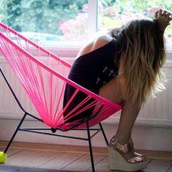 Woven Lounge Chair Folding Vector Art Hammock-like Seating : Acapulco Chairs