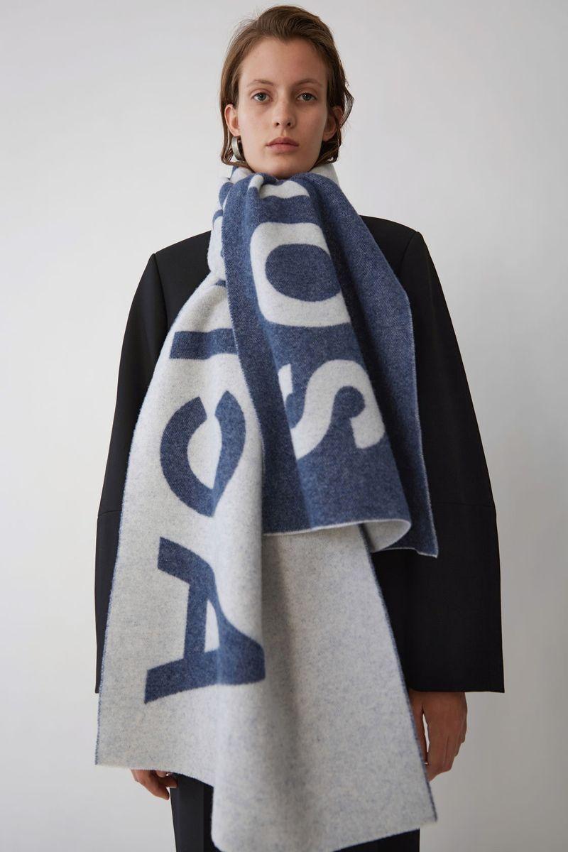 Branded Oversized Scarves  Acne Studios Wool Scarf