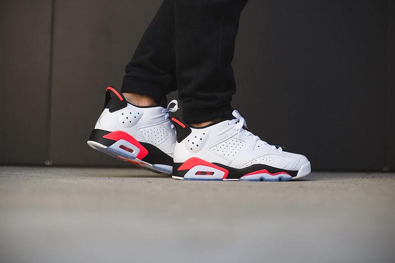 Retro Patriotic Sneakers  Air Jordan 6 Low