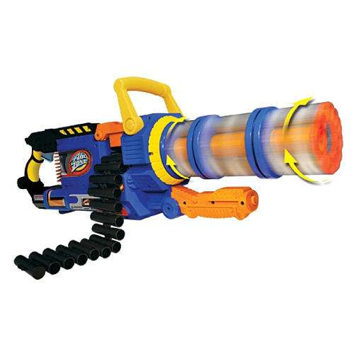 Kiddy Chain Guns AirZone Punisher Gatling Blaster