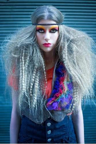 Eccentric Bohemian Hairdos  Akif Hakan Celebi