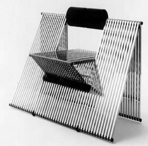 foldable chairs folding step stool chair aluminium tubing chairs: quarta by mario botta