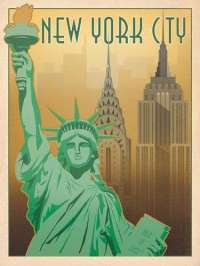 Vintage American City Prints : Anderson Design Group Posters
