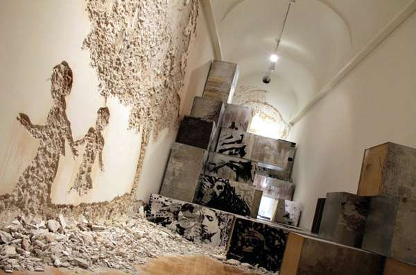 Destroyed Art Exhibits Antonio Cachola