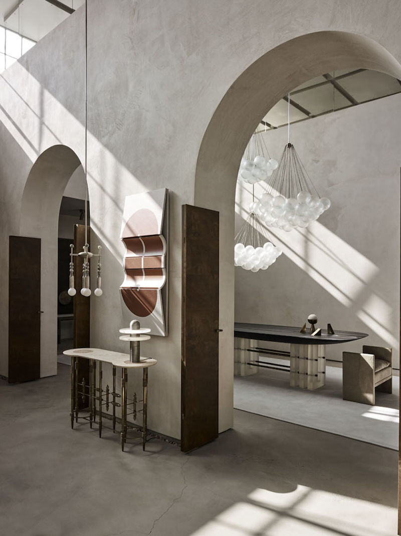 Arched Furniture Showrooms APPARATUS Showroom