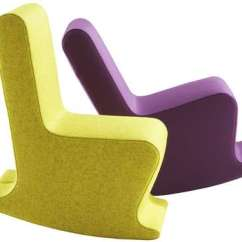 Rocking Chair Rockers Revolving Price In Nepal Armless Chairs: Claudio Colucci's 'dada' And 'mini Dada' Fuse Fun With Function