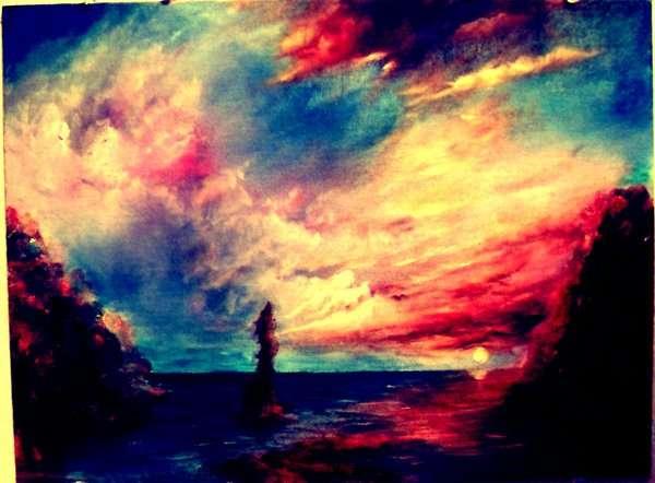 Polychromatic Landscape Paintings  artist HyunJae