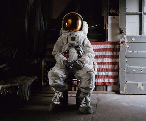 Suicidal Astronaut Captures  astronaut photography