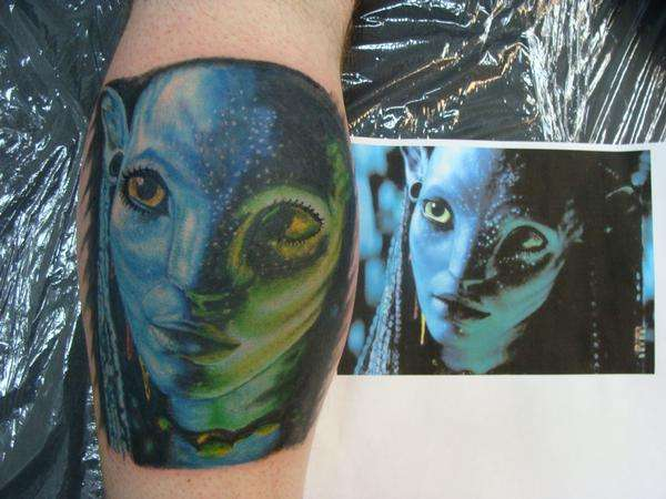 Avatar Tattoos Frenzied Flick Fans Flock to Get Neytiri