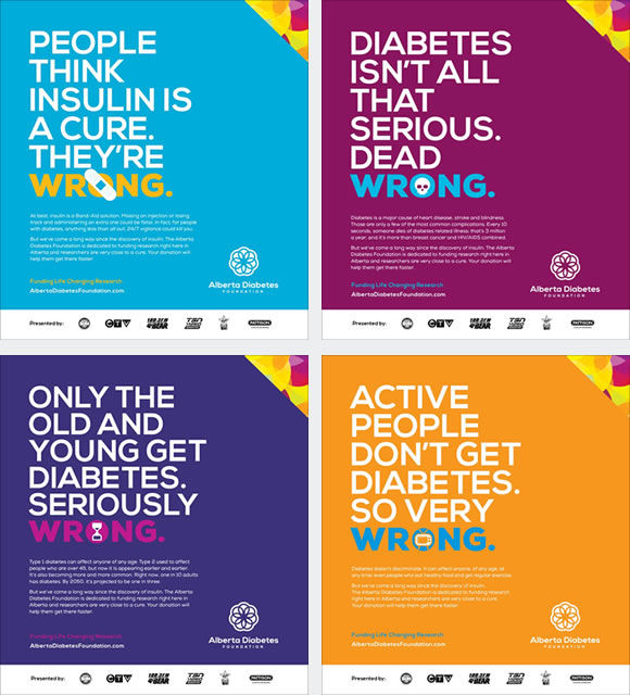 Truthful Diabetes Posters Awareness For Diabetes