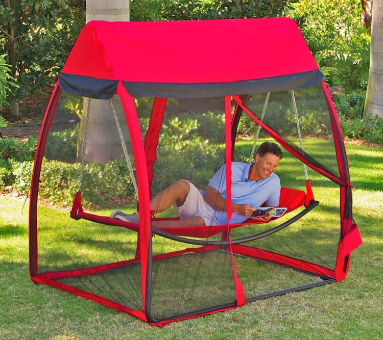 BugStopping Backyard Hammocks  backyard hammock