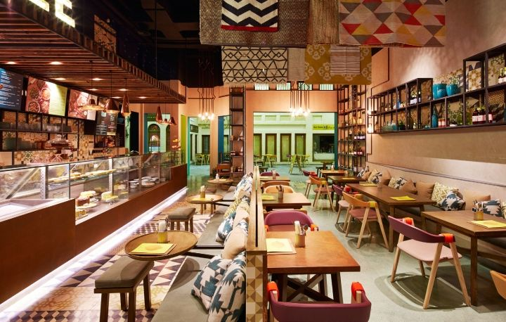 Fast Casual Street Cafes  Bahrain Restaurant
