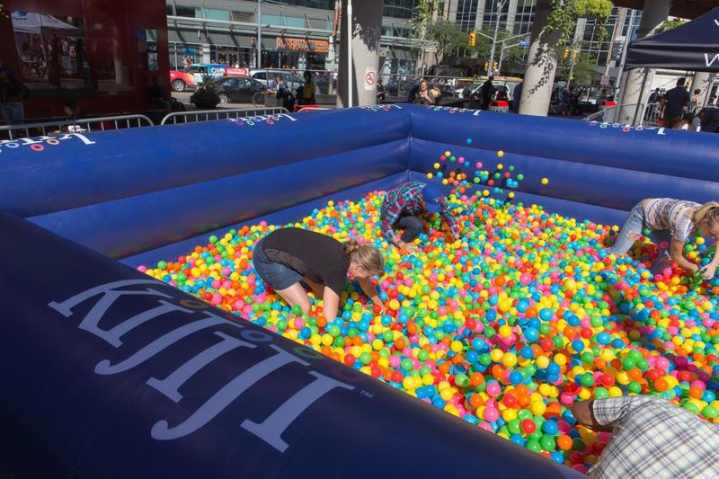 Collegiate Ball Pits  ball pit for adults