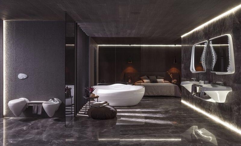 Futuristic Bathroom Designs  bathroom design