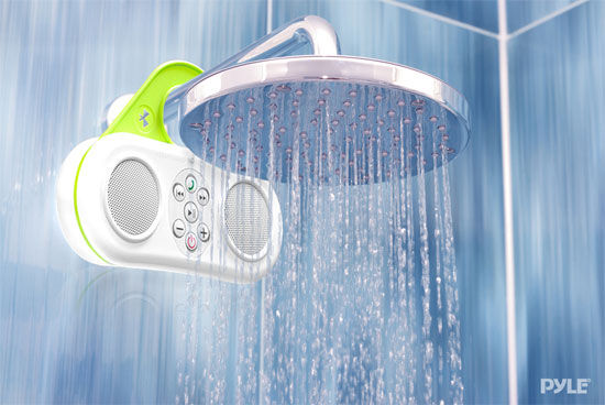 Integrated Shower Sound Systems Bathroom Speaker