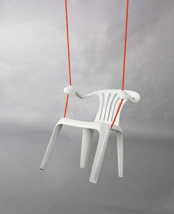 white lawn chairs plastic ijoy massage personified chair art : bert loeschner