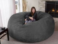 Oversized Enveloping Chairs : big bean bag