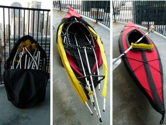 Boat In A Bag Folbot Edistos Folding Kayak Lets You
