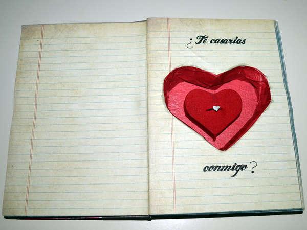 Hidden Novel Proposal Boxes  Book Engagement Ring Case