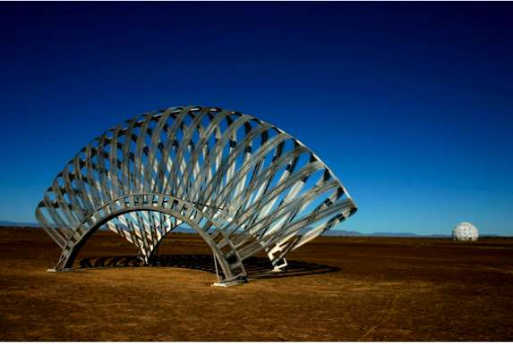 Fanned Architecture Brendan Smithers Memory Sculpture