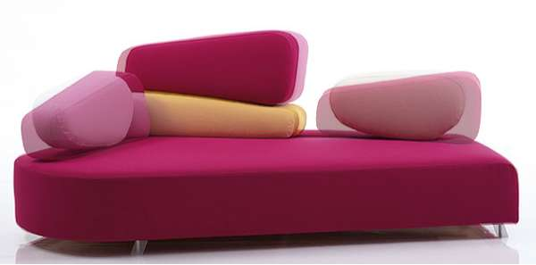 Bedrock Furniture Bruhl Designs Oddly Shaped And Cheerful Seating