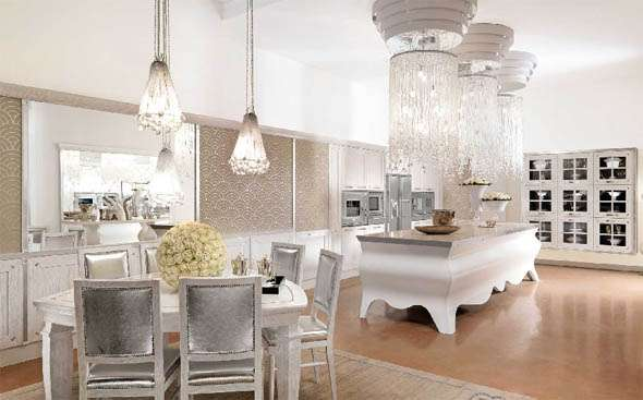 Ultra Extravagant Kitchens Brummel Papillon Kitchen