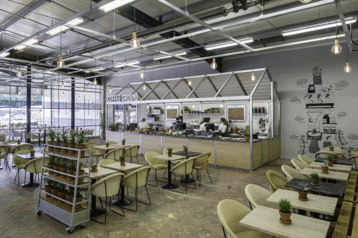 GreenhouseInspired Coffeeshops  Cafe Concept