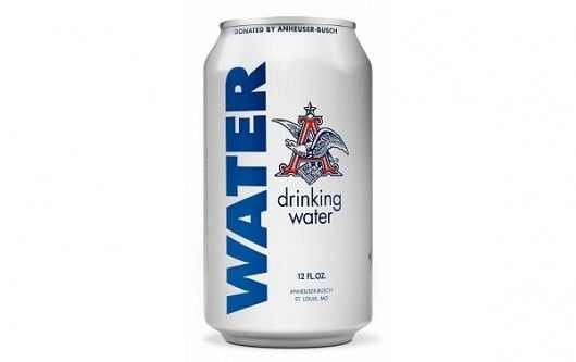 Relief Water Cans : Canned Drinking Water