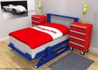 Auto Mechanic Bedroom Sets : car bedroom set