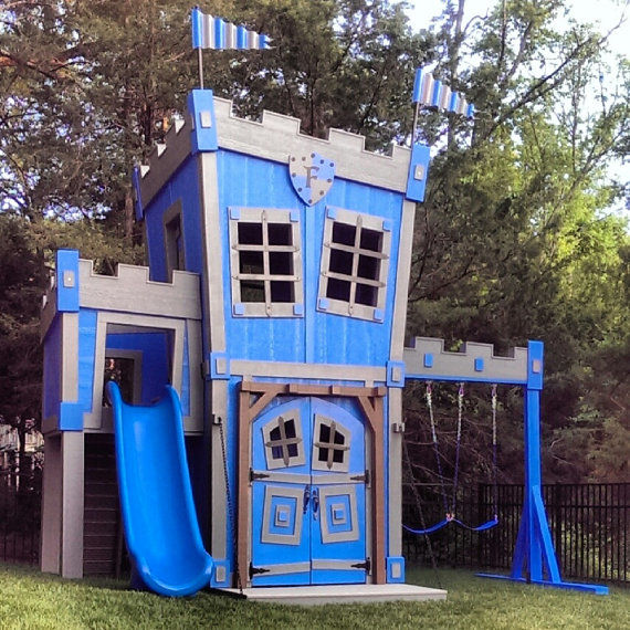 Regal Backyard Castles  Castle Playhouse