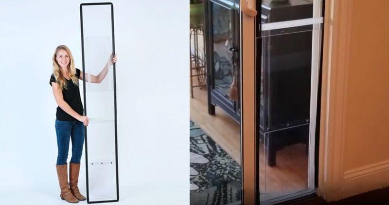Apartment Balcony Pet Doors Cat And Dog Door