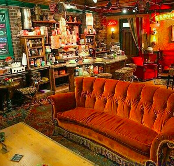 Cinematic Cafe PopUps  central perk