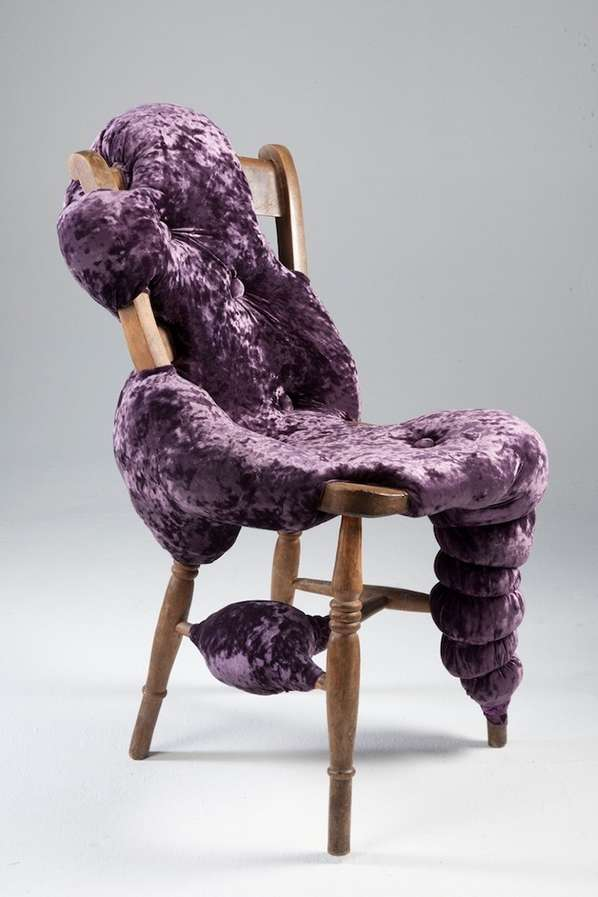 hand chairs best beach uk couture biomorphic furniture : chair frames