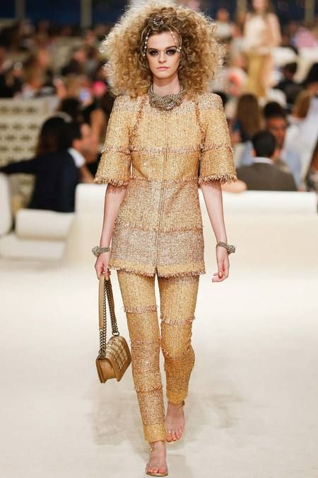 Modern 19th Century Couture Chanel Resort 2015